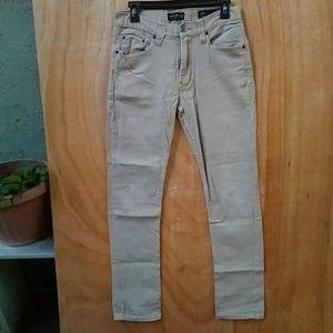 Bullhead Denim Beige Skinny Slim Jeans 30x32